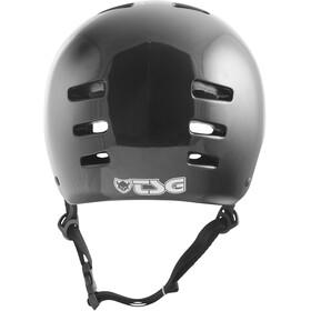 TSG Evolution Injected Color casco per bici Bambino nero